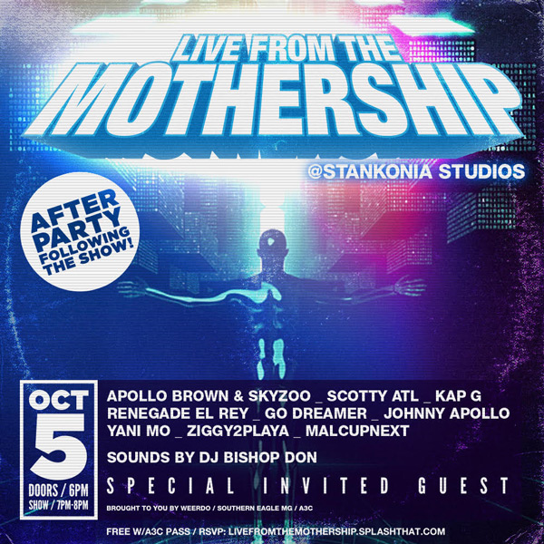 livefromthemothership_october5th
