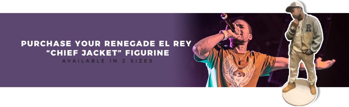 Renegade El Rey Figure Banner